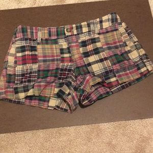 Old Navy Plaid Shorts, Size 4, NWT